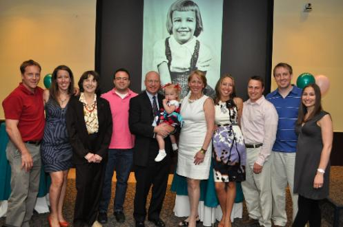 The Rubin Family at the Book Launch Celebration